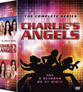 Charlie's Angels: The Complete Series DVD box