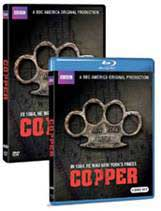 Copper Blu-ray and DVD boxes