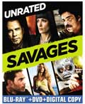 Savages Blu-ray box