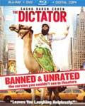 The Dictator Blu-ray box