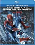 The Amazing Spider-Man Blu-ray 3D box