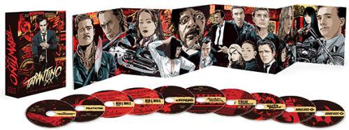 Tarantino XX: 8-Film Collection Blu-ray box
