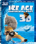 Ice Age: Continental Drift Blu-ray 3D box