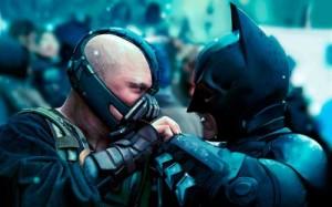 The Dark Knight Rises movie scene