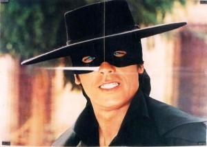 Zorro movie scenee