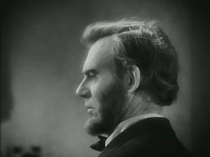 Abraham Lincoln movie scene
