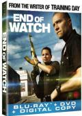 End of Watch Blu-ray box