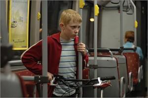 The Kid with a Bike movie scene