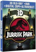 Jurassic Park Blu-ray 3D Combo box