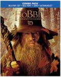 The Hobbit: An Unexpected Journey Blu-ray 3D box
