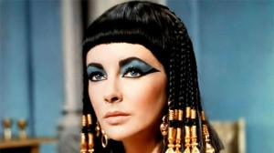Cleopatra movie scene