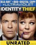 Identity Thief Blu-ray box