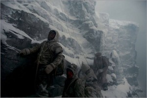 North Face movie scene