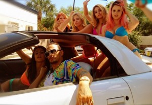 Spring Breakers movie scene