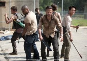 The Walking Dead: Season 3 scene