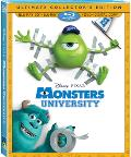 Monsters University Blu-ray box