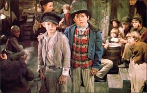 Oliver! movie scene
