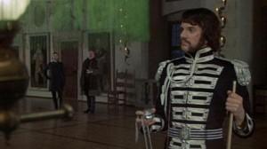 Royal Flash scene