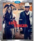 The Lone Ranger Blu-ray/DVD box