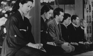 Tokyo Story movie scene