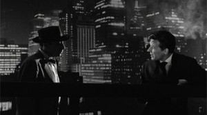 Two Men in Manhattan movie scene