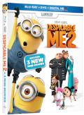 Despicable Me 2 Blu-ray box