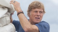 Redford battles the elements aboard a sinking sailboat in the middle of the ocean in this nerve-wracking one-man adventure.
