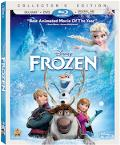 Frozen Blu-ray box