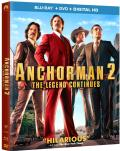 Anchorman 2: The Legend Continues Blu-ray box