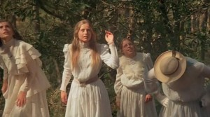 Picnic at Hanging Rock movie scene