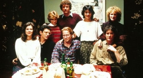 A group of reunited college friends hear it through the grapevine in the 1983 comedy-drama, coming in July!