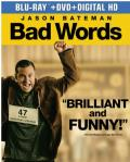 Bad Words Blu-ray box