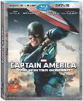 Captain America: The Winter Soldier Blu-ray 3D box