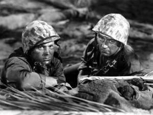 Sands of Iwo Jima movie scene