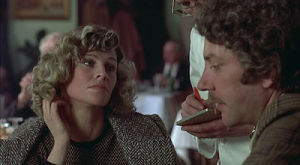 Julie Christie and Donald Sutherland in Don't Look Now.