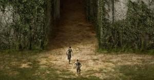 The Maze Runner movie scene