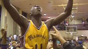 Arthur Agee in Hoop Dreams