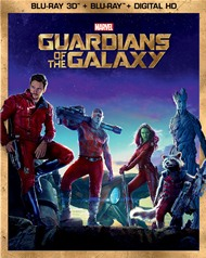 Guardians of the Galaxy Blu-ray box
