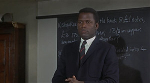 Sidney Poitier stars in To Sir, With Love