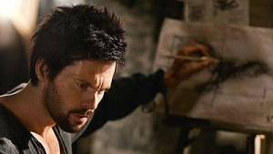 Tom Riley is Leonardo in Da Vinci's Demons