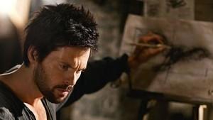 Tom Riley is Leonardo in Da Vinci's Demons