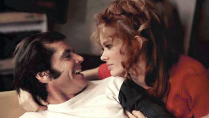 Jack Nicholson and Karen Black in Five Easy Pieces