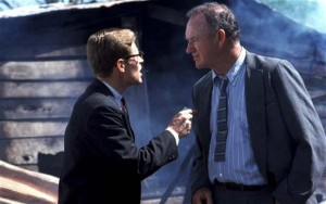 Willem Dafoe and Gene Hackman in Mississippi Burning