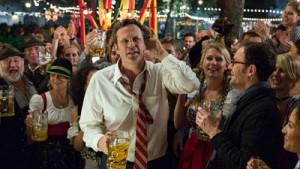 Vince Vaughn listens for the laughter--any laughter--in Unfinished Business.