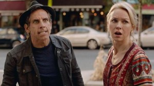 Ben Stiller and Naomi Watts stress out in While We're Young.