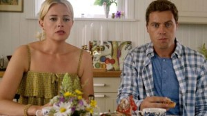 Josephine Bornebusch and Greg Poehler on Welcome to Sweden.