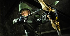 Stephen Amell is Arrow.