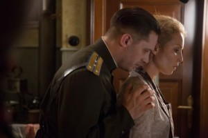 Tom Hardy and Noomi Rapace star in Child 44.