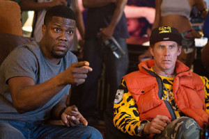 Kevin Hart and Will Ferrell in Get Hard.