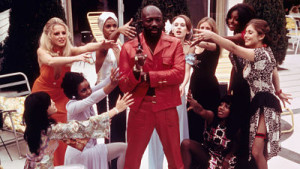 The ladies love Isaac Hayes in Truck Turner.